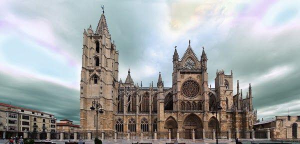 Catedral de León, España