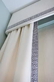 curtains with trimming on leading edge - Google Search