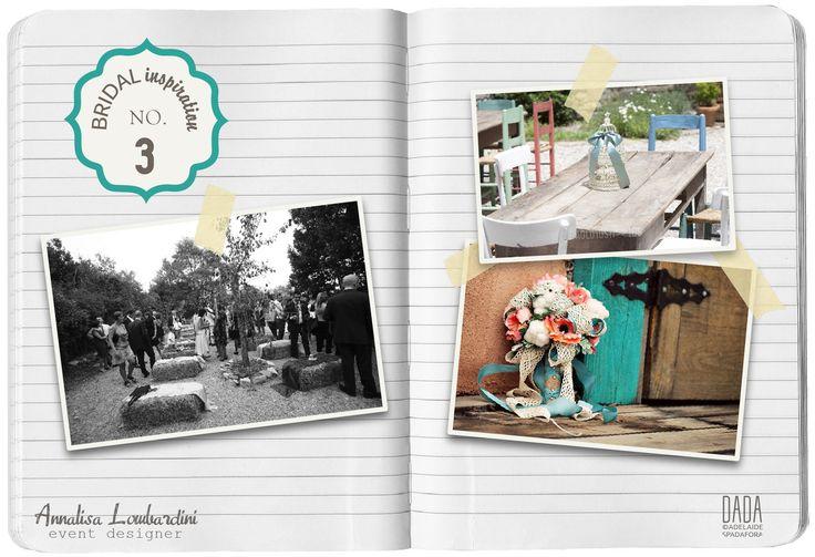 Ispirazione di colori n.3 - Turchese e Albicocca @LeBidule   Inspiration n.3 - Turquoise and Apricot