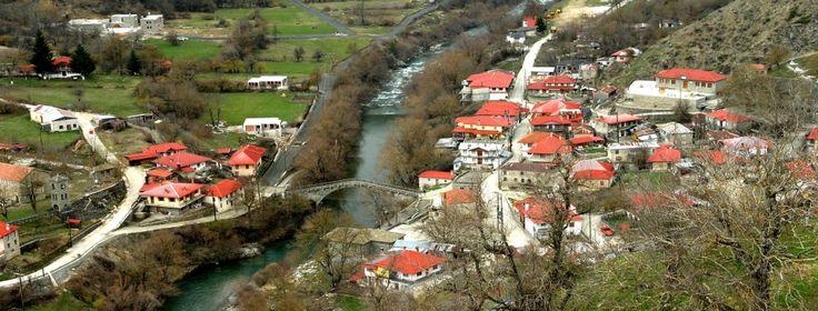Vovousa village, Epirus