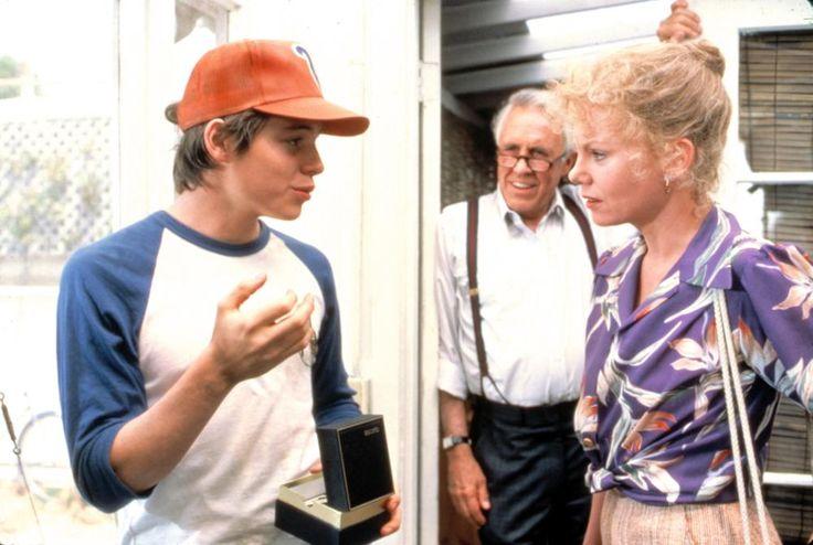 MAX DUGAN RETURNS, from left: Matthew Broderick, Jason Robards Jr., Marsha Mason, 1983 | Essential Film Stars, Matthew Broderick http://gay-themed-films.com/film-stars-matthew-broderick/