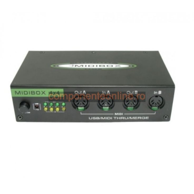USB MIDI box, cu 4 intrari DIN - 114706