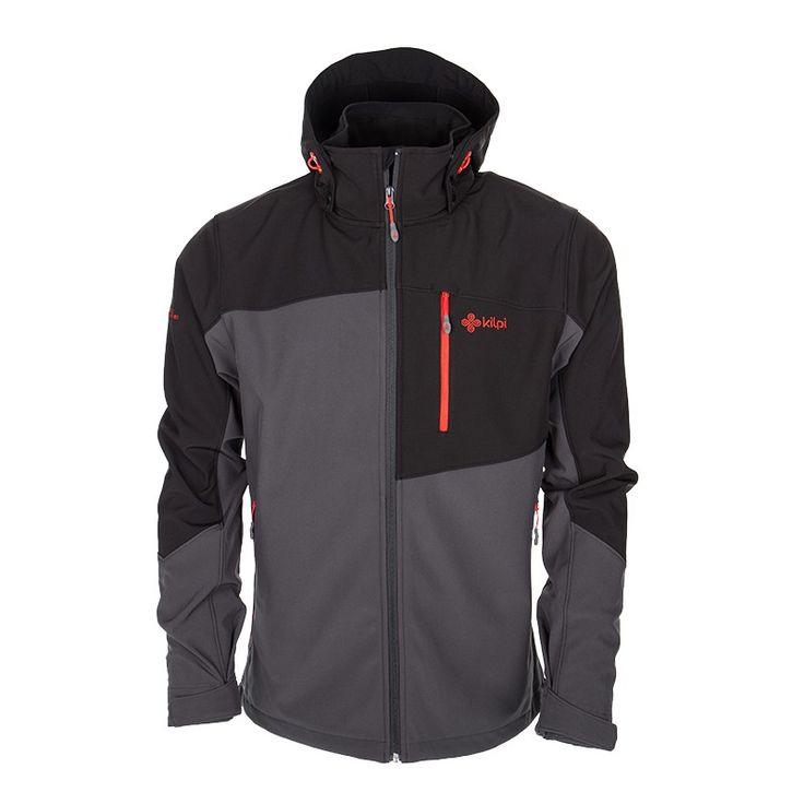Men's softshell jacket KILPI - ELIO - dark grey