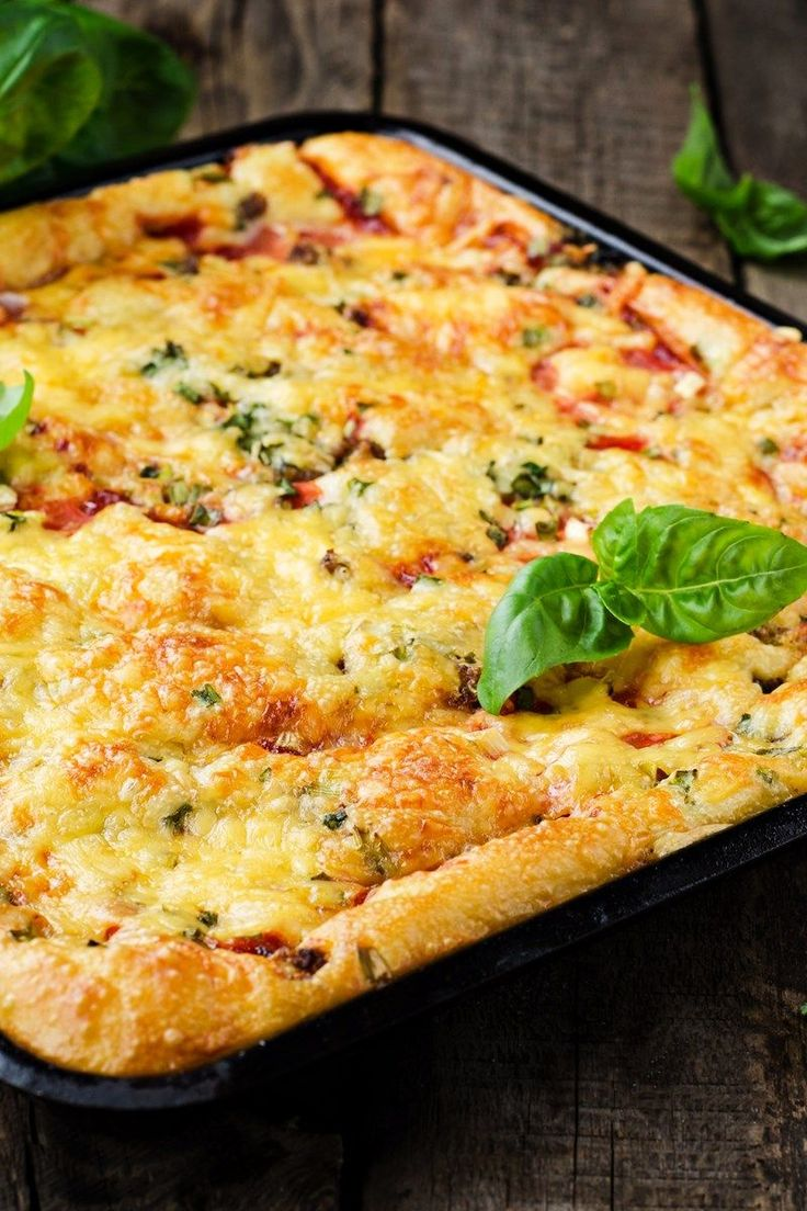 Deep Dish Pizza Casserole. WW Smartpoints & Points Plus.