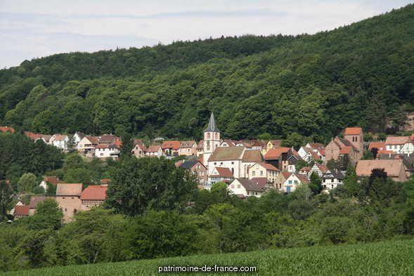 présentation de la commune d'Oberbronn à Oberbronn