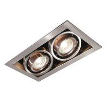 View The Bazz Lighting CUBG302BS RF GU10 Series Two Light Directional Recessed  Light Fixture For