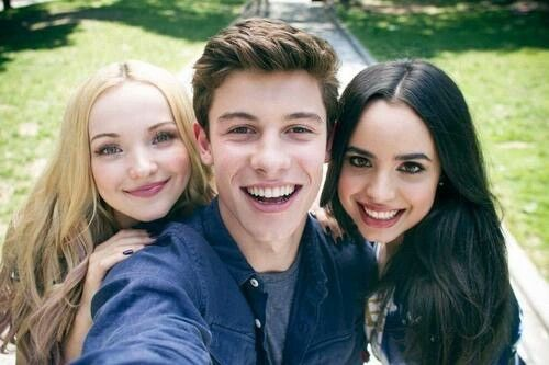 Shawn Mendes! W/Dove Cameron and Sofia Carson! @camshwn