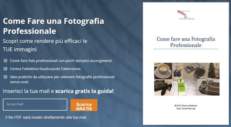 Buona domenica! Come fare una Fotografia Professionale? leggi l'articolo e scarica GRATIS la guida http://blog.marinagalatioto.com/come-fare-una-fotografia-professionale/ #fotografia #guida #fotografiaprofessionale #comefare