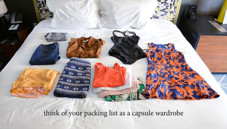 Planning and creating the ultimate visual packing list with Stylebook closet app via @stylebookapp