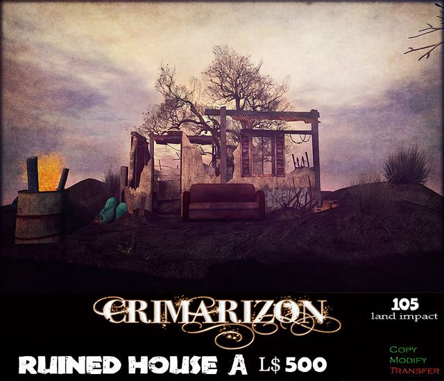 CRIMARIZON *Ruined House* A | Flickr - Photo Sharing!