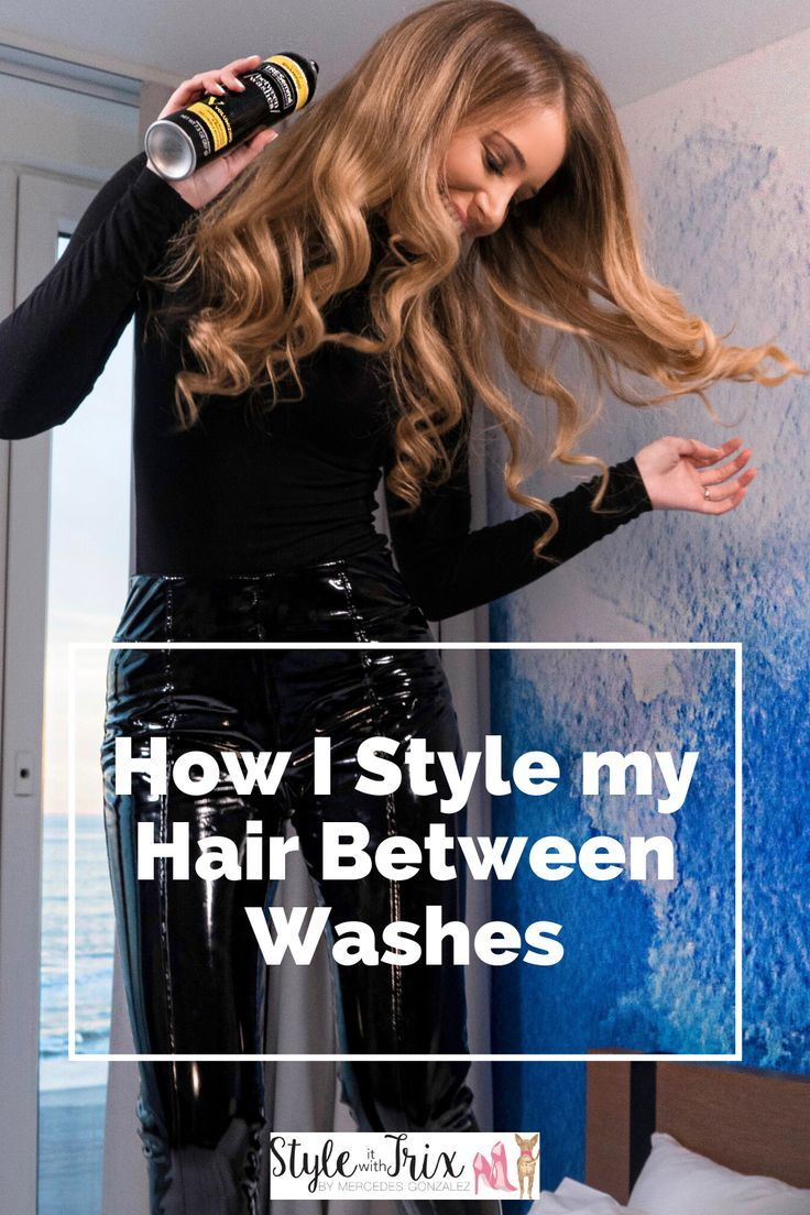 Styling My Hair Between Washes With Tresemee Style It With Trix In 2020 My Hair Hairstyles For Thin Hair Medium Length Hair Styles