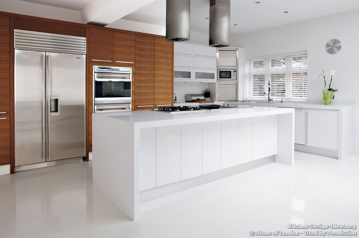 Kitchen Of The Day Minimalist Kitchen With White Floors