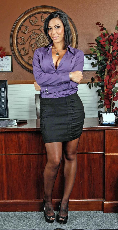 Rachel Starr  My Dream Girls  Sexy, Little Black Skirts -1015