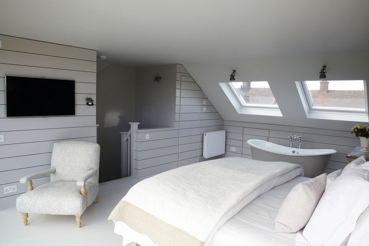 1000 ideas about attic master bedroom on pinterest attic bedrooms attic master suite and - Loft conversion bedroom design ideas ...