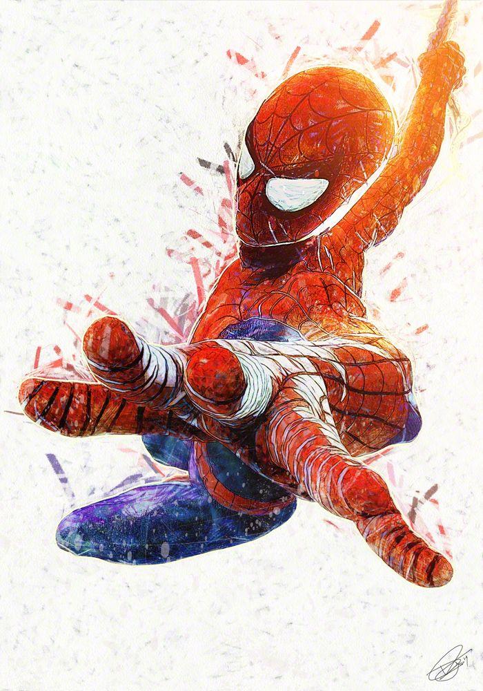 Spider-Man by Daniel Scott Gabriel Murray
