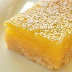 The Disney Diner: Crystal Palace: Lemon Squares Recipe ~ Makes (12) ~ Magic Kingdom!