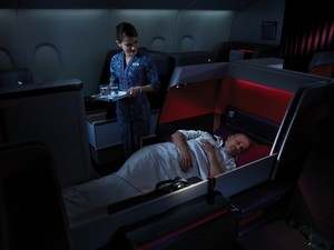 Photos of Malaysia Airlines A380 First class