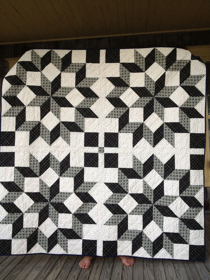 Carpenter's Wheel Quilt | by dorathy