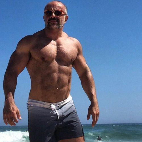 Grey Power Beefy Men Amp Muscular Calves Bear Men Men