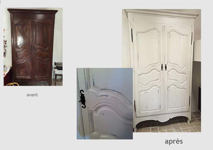 1636 best meubles patin s relookes ou pas images on pinterest painted furniture antiques. Black Bedroom Furniture Sets. Home Design Ideas