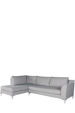 Our substantial and generous urban T - leg chaise provides optimal comfort
