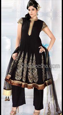 Net Lined Designer Pakistani Palazzo Kurta Dress