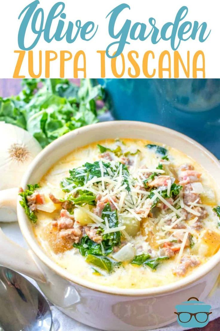 Olive Garden Zuppa Toscana Recipe Olive Garden Zuppa Toscana Zuppa Toscana Toscana Recipe