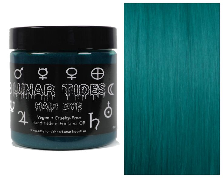 Dark and luscious, our deep colors feature velvet tones that are highly pigmented to last long and create richer tones. Cerulean Sea is a one-of-a-kind highly pigmented dark teal dye. * This is a semi