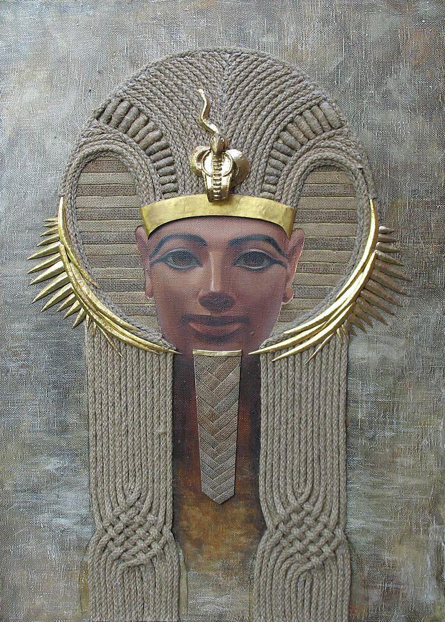 Hatshepsut Painting - Hatshepsut. Female Pharaoh Of Egypt by Valentina Kondrashova