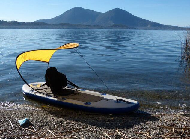 Bimini top for kayak #bimini #kayak #kayaking