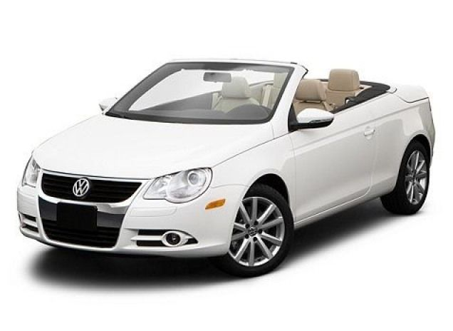 Volkswagon Eos Hardtop Convertible With A Working Sunroof