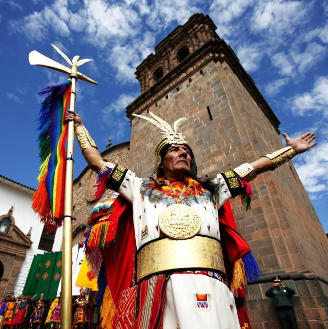 Inti, the Sun God, was the second-most important god to the Inca culture after Viracocha, the Creator.
