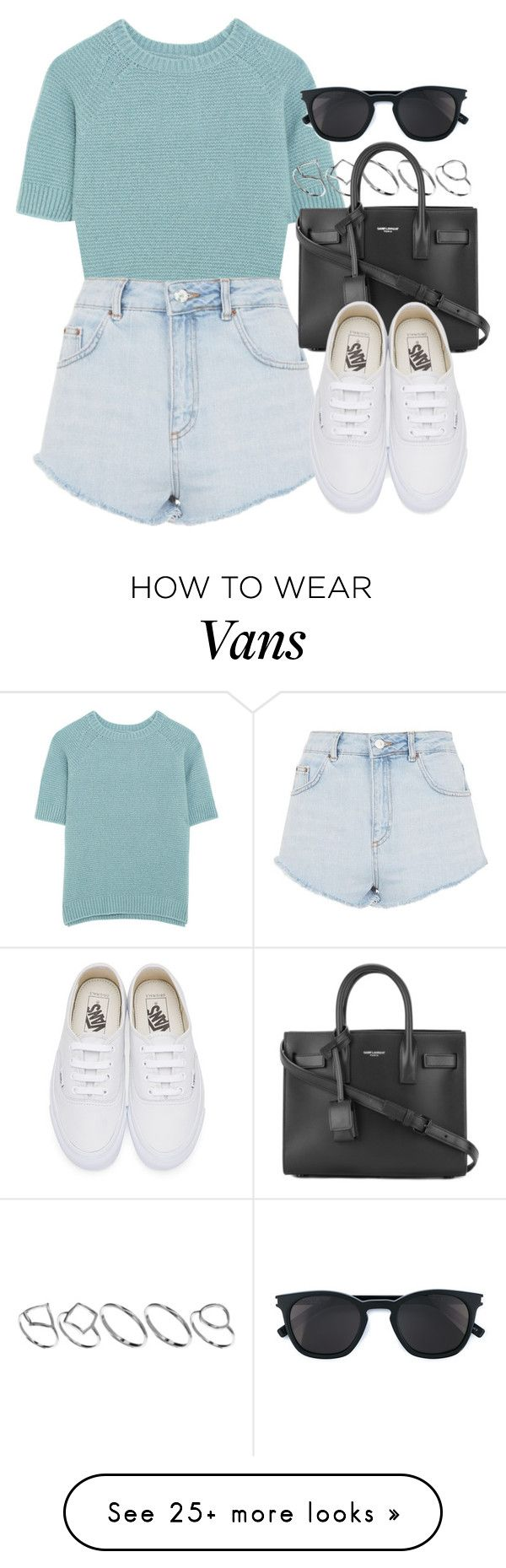 """Sin título #12727"" by vany-alvarado on Polyvore featuring MaxMara, Topshop, ASOS, Yves Saint Laurent and Vans"