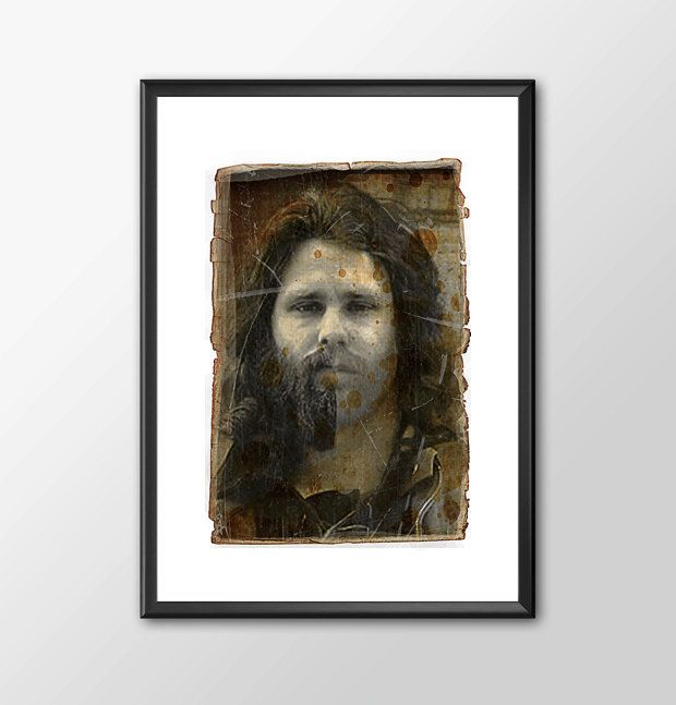 Jim Morrison and The Doors Tribute The Changeling - PRINTED by ShamanAlternative on Etsy