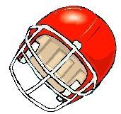 clipart casque football americain