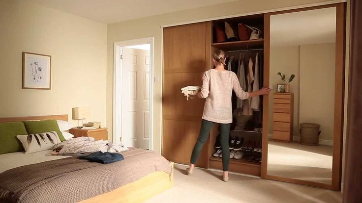 Image of: Mirror Sliding Closet Doors Plan