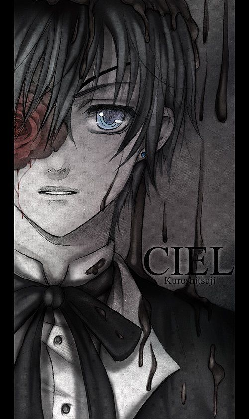 Roses are red, Ciel is upset, Just hide from Grell, He's waiting for Sebastian~