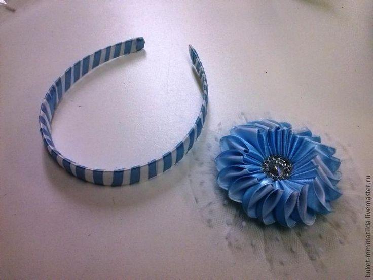 Как сделать бант-зефирку - Ярмарка Мастеров - ручная работа, handmade