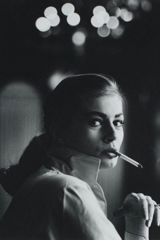 Anita Ekberg photographed by Georg Oddner, 1951.