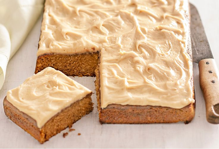 We've turned everyone's favourite sticky toffee pudding into a cake for a crowd - complete with caramel icing.