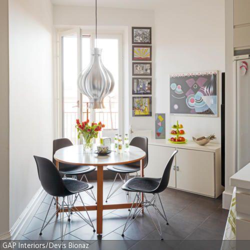 die besten 25 runde esstische ideen auf pinterest runder esstisch runde esszimmertische und. Black Bedroom Furniture Sets. Home Design Ideas