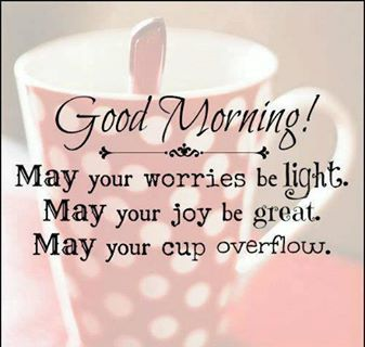 Good Morning Everyone, Have an Awesome Day!