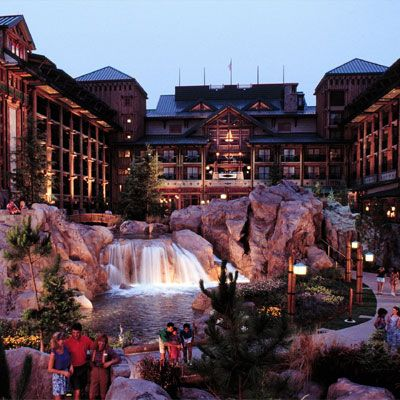 Just like home!  Disney's Wilderness Lodge, Orlando, Florida