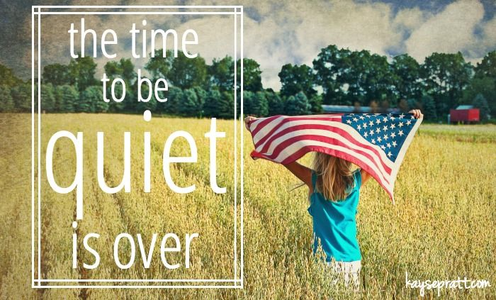 The Time To Be Quiet Is Over :: A Response to the SCOTUS Ruling - kayse pratt