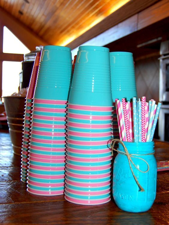 DIY Gender Reveal Party Ideas