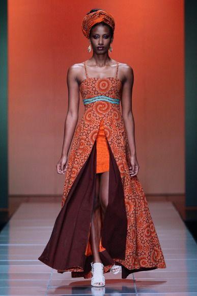 bongiwe walaza mercedes benz fashion week africa 2013 african fashion (1)