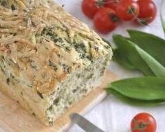 Cake au chèvre et aux herbes (facile, rapide) - Une recette CuisineAZ