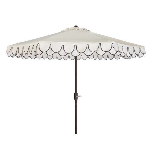 Choose an outdoor umbrella that provides plenty of shade.