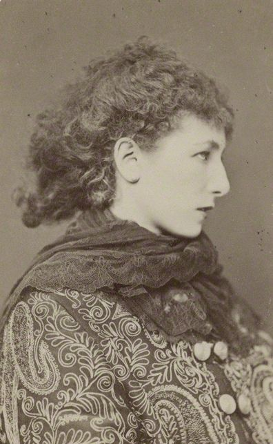 "1878 Sarah Bernhardt  (October 1844 – March 1923) was a French stage and early film actress, and has been referred to as ""the most famous actress the world has ever known"".  Bernhardt made her fame on the stages of France in the 1870s, and was soon in demand in Europe and the Americas. She developed a reputation as a serious dramatic actress, earning the nickname ""The Divine Sarah."""
