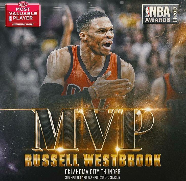 MVP 2017 Russel Westbrook